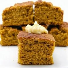 Pumpkin Cornbread with Cinnamon Butter -The Tipsy Chicks Supper Club