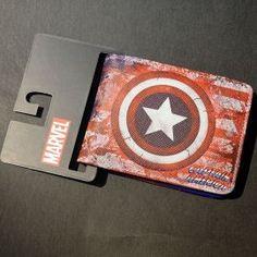 Portefeuille en cuir Captain America