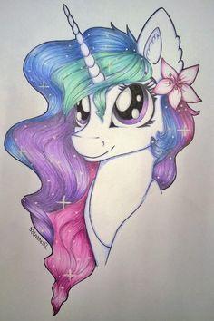unicorn drawing easy step by step ; unicorn drawing easy for kids Unicorn Drawing, Pony Drawing, Unicorn Art, Cartoon Unicorn, Drawing Drawing, Drawing Ideas, Kawaii Drawings, Cartoon Drawings, Easy Drawings
