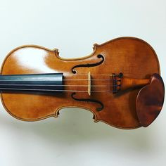 #HappyBirthday Mr. @barnesviolins! This is his #20th #violin! It has a beautiful robust and powerful sound! #20 has a one piece back. #Testore #instaviolin #whatsonyourbench by eaviolin