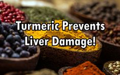 Curcumin's Anti-Inflammatory Properties Prevent Liver Damage, Liver Cirrhosis