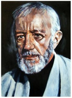 ARTFINDER: 'Obi Wan Kenobi' - I have just published 'Obi Wan Kenobi' on Artfinder
