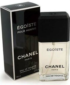 Egoiste Chanel cologne - a fragrance for men 1990