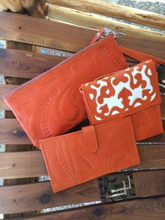 Leaders in leather purses and wallets. Hand tooled. Made in Paraguay