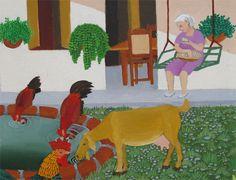 Indigo Arts Gallery | Cuban Outsider Art | Luis Joaquin Rodriguez Arias