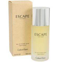 Calvin Klein Escape By For Men Ounce Spray Fragrance Calvin Klein, Cellophane Wrap, Beauty Hacks, Beauty Tips, Fragrance, Black And White, Escape, Luxury Fashion, Essentials