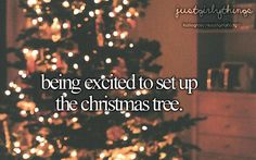 My favorite holiday is Christmas because I love putting up the Christmas tree and putting up colorful lights Chirstmas is so joyful.