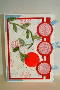 Tutorial on how to Make a Card with Secret Messages: Decoder Card by Shirley Durell