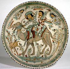 Bahram Gur and Azadeh XII-XIII century- Met Museum