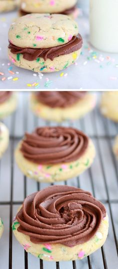 Ganache Frosting  | Click Pic for 22 Easy Easter Cookies for Kids to Make | Delicious Easter Cookie Recipes from Scratch