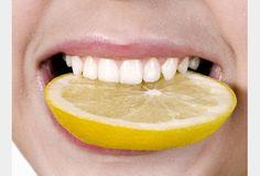Dents Blanches : Mettez un peu de Bicarbonate de Soude sur votre brosse à dent (sans rajouter de dentifrice) et brossez-vous les dents normalement puis rincer, à faire maximum 2 fois par semaine (car c'est abrasif), ensuite rajouter un demis citron mélangé au Bicarbonate de Soude (toujours sans rajouter de dentifrice, brossez-vous les dents normalement également puis rincer) pour enlever les tâches et augmenter la brillance, à faire 1 fois par semaine