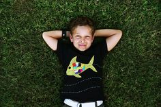Boy's TShirt Boy's Tee Kid's Clothing FISH Clothing by ZoologyKids