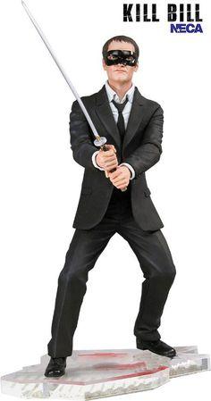 Figura Kill Bill. Yakuza88, Quentin Tarantino, 18cm, NECA