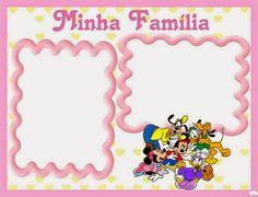 Minnie Bebé: Album de Fotos para Imprimir Gratis. Blogger Templates, Frame, Diana, Decor, Baby Girls, Free Printable, Montages, Pregnancy, Decoration