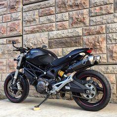 @themidwaymonster via @ducaticanada | #ducatigram #ducati #monster696 @bikeswithoutlimits by ducatigram