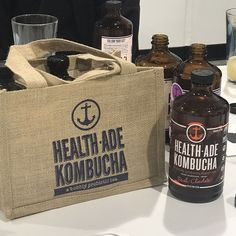 Just finished a tour of @healthade kombucha brewery in Torrence CA and it was AMAZING! These guys do it right no short cuts just integrity and quality in spades! Their commitment to making the best kombucha with the best ingredients in small batches was so impressive  Be on the lookout because we'll be bringing in more awesome flavors from them #eathealthybehappy