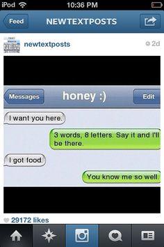 Food is my best friend