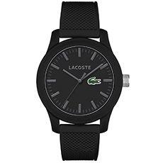 Relógio Lacoste Unissex Borracha Preta - 2010766