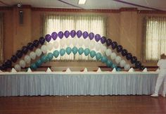 WEDDING PROM SCHOOL GYM DANCE DECORATION HOMECOMING BALLOON ARCH INSTRUCTION