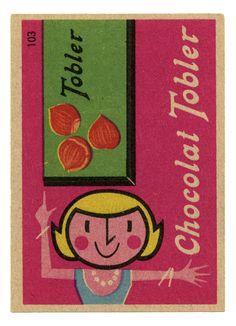 Tobler Chocolate with hazelnuts label via Daniel Mogford on Flickr https://flic.kr/p/7h6qMb |