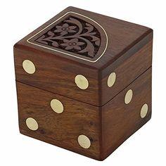 Jeux en bois cinq dés définir dans une zone artisanale mignonne, 6,3x6,3X6,3 cm ShalinIndia http://www.amazon.fr/dp/B00QBXRGY8/ref=cm_sw_r_pi_dp_e.GTvb11K1WB1