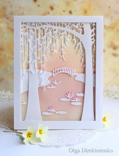 Today's card is a collaboration project with Therese Calvird - I just love her unique artistic approach to cardmaking and always enjoy watc...
