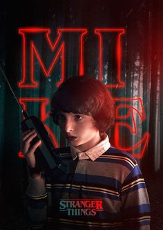 Spooky Stranger Things Characters Posters – Fubiz Media