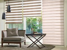 Made to Measure Brown Duplex Blinds from Bolton Blinds