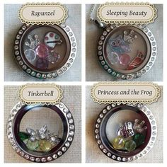 Origami Owl Living Lockets - Disney Princesses