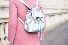 Fashionknitsta wears the Boden backpack. March 2015.