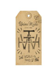 TWTH tags - BMD Design