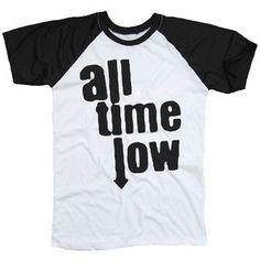 All Time Low Black & White Two Tone Shirt T-Shirt Unisex Men Women Size S M L XL