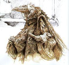 Dark Crystal Concept Art