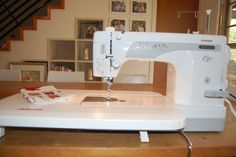 Janome 1600P QC - info on Kate Conklin's machine search - apparently the Husqvarna Viking Mega Quilter is the same as the Janome 1600P Sewing Machine - elizabeth hartman has a viking mega quilter