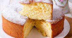 Tea Cakes, Food Cakes, Basic Yellow Cake Recipe, Cakes Without Butter, Key Food, Cake Day, Sponge Cake Recipes, Cake Recipes From Scratch, Take The Cake