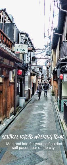 A self guided walking tour through central Kyoto in Japan | Japan Travel | Kyoto Travel via @2aussietravellers