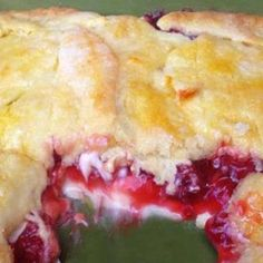 ~**Cherry Cream Cheese Bake**~ This recipe looks to be very simple. AND yummy!