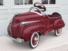 "thereluctantoptimist: ""1941 Chrysler Pedal Car """