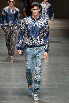 Dolce & Gabbana Spring 2016 Menswear Fashion Show - Jarno Boom
