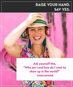 Stasia Savasuk on Creating Empowerment. Oh man. It's big. This week, I was thrilled to have Stasia Savasuk back on the show to talk all about body image, getting dressed, and (of course! Creative Business, Business Tips, Business Women, Boss Lady, Girl Boss, Man Body, Style Challenge, Body Image, Get Dressed