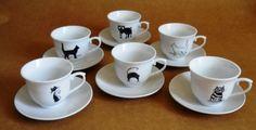 . Cat Mug, Cool Cats, Cat Lovers, Mugs, Tableware, Cat Things, Cat Stuff, Bowls, Alice