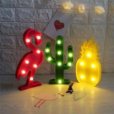 flamingo LED lamps
