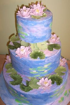 OMG!  Amazing cakes inspired by famous artists.  Monet, van Gogh, Warhol, and lots more.