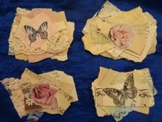 Glue Book, Origami, Art Journal Techniques, Junk Art, Creative Journal, Handmade Tags, Handmade Journals, Scrapbook Embellishments, Paper Tags