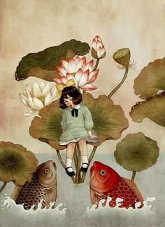 Dani Soon | ILLUSTRATION | 'Thumbelina' by Hans Christian Andersen
