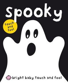 Spooky: From Bright Baby, Spooky ($5) is an interactive touch-and-feel board book that has simple text and a slightly spooky theme for little ones enjoying their very first Halloween.
