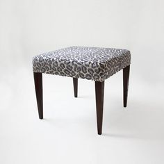 Thomas Stool | Shop: Custom Furniture | Sarah Richardson Design Love this idea going to need a couple of these for make up areas