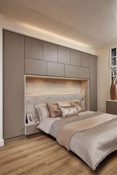 Awesome Modern Master Bedroom Storage Ideas Modern Master Bedroom Storage Ideas – New Modern Master Bedroom Storage Ideas, 2018 Shared Kids Room and Storage Ideas Full Size Bedroom Sets Small Bedroom Storage, Modern Master Bedroom, Small Bedroom Designs, Modern Bedroom Design, Master Bedroom Design, Minimalist Bedroom, Contemporary Bedroom, Home Decor Bedroom, Bedroom Small