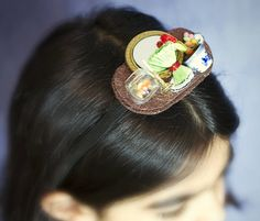 Our Persian haft-sin 3-D headband - part of our Persian Holiday Accessories® series.