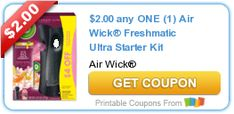 Tri Cities On A Dime: SAVE $2.00 ON AIR WICK FRESHMATIC ULTRA STARTER KI...